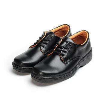 SARTORI 綁帶方頭學生鞋 黑 男鞋 鞋全家福