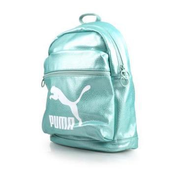 PUMA PRIME後背包-雙肩包 旅行包 湖水綠