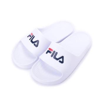FILA 一體成型套式拖鞋 白 4S355Q-113 女鞋 鞋全家福