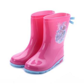 冰雪奇緣 中筒雨鞋 粉紅 FOKL84803 鞋全家福