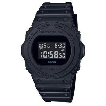 【CASIO】G-SHOCK 經典復刻數位設計休閒錶-黑面(DW-5750E-1B)
