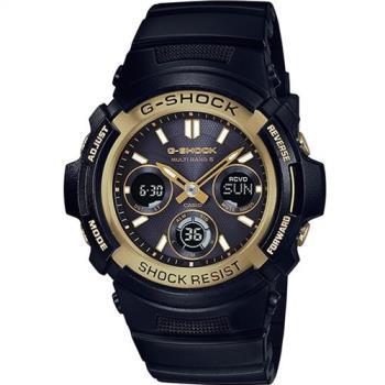 G-SHOCK 絕對強悍太陽能運動錶 AWG-M100SBG-1A