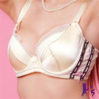 Ks專利機能舒適蠶絲內衣AB罩杯(黃色)