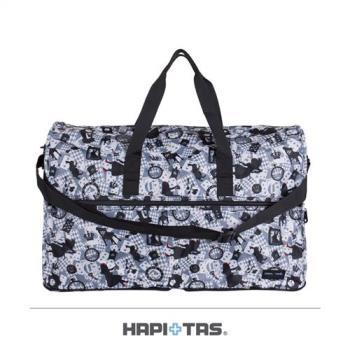 Traveler Station-HAPI+TAS 摺疊旅行袋(大)-294灰色愛麗絲