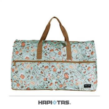 Traveler Station-HAPI+TAS 摺疊旅行袋(大)-315薄荷綠女孩小物