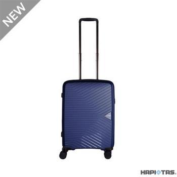 Traveler Station-HAPI+TAS 超輕量PP拉鍊箱 HAP2082 19吋 登機箱 (藍)