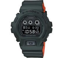 【CASIO】G-SHOCK 強悍消防栓系列雙配色男錶-墨綠X橘(DW-6900LU-3)