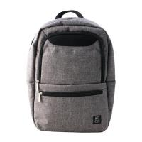 US DUCK文青風電腦後背包-灰色5-UN-C6001-2