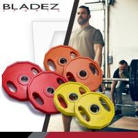 BLADEZ 奧林匹克槓片60KG重量組合-(5KG-2入/10KG-2入/15KG-2入)