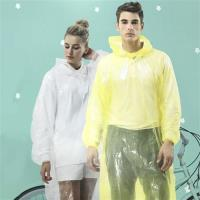 達新牌 金德恩ONE SIZE便利型透明雨衣(黃/透明隨機色)5件組