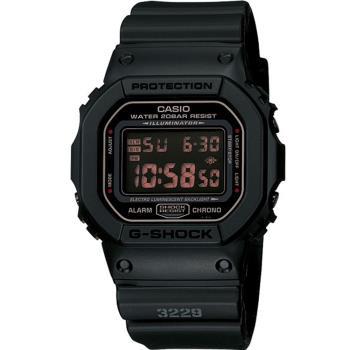 CASIO G-SHOCK 暗黑運動腕錶 DW-5600MS-1