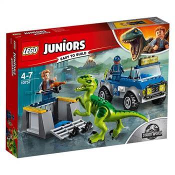 樂高積木 - Junior 初學級系列 - Raptor Rescue Truck 10757