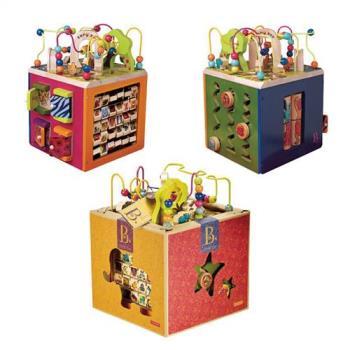 美國【B.Toys】滑稽馬戲團