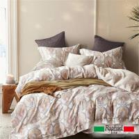 Raphael拉斐爾 風情 天絲特大四件式床包兩用被套組