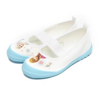 冰雪奇緣 室內鞋 淺藍 中童鞋 鞋全家福