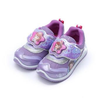 DISNEY 蘇菲亞小公主電燈鞋 紫 中童鞋 鞋全家福