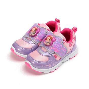 蘇菲亞公主 櫻花電燈鞋 紫 SOKB77607 中童鞋 鞋全家福