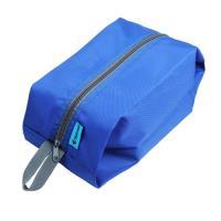 PUSH!戶外休閒旅遊用品雜物包可攜式鞋包防水洗漱包手提包U43-1藍色