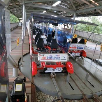 下殺-釜山鐵道自行車天空步道積木村4日旅遊