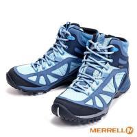 MERRELL SIREN SPORT Q2 MID GORE-TEX防水登山運動多功能高筒 女鞋-藍