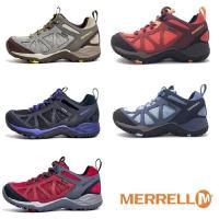 MERRELL SIREN SPORT Q2 MID GORE-TEX防水登山運動多功能低筒 女鞋-五色(橄欖綠、黑紫、黑紅、藍、灰紅)