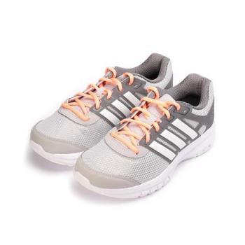ADIDAS DURAMO LITE W 限定版輕量吸震跑鞋 灰白粉 BA8109 女鞋 鞋全家福
