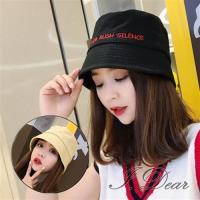 【I.Dear】韓國街頭潮男女字母水桶盆帽小臉帽(3色)現貨