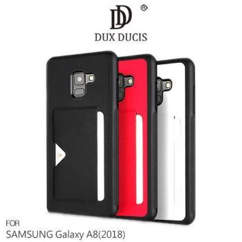 【DUX DUCIS】SAMSUNG Galaxy A8(2018)  POCARD 後卡殼
