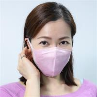 衛風PM0.3奈米3D薄膜口罩(M-L)-30入盒裝(粉色)