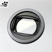 台灣製造Freemod半自動蓋X-CAP2(含STC保護鏡)52mm鏡頭蓋Black黑色