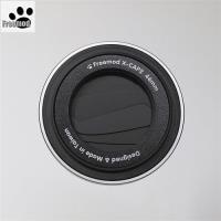 台灣製造Freemod半自動鏡頭蓋X-CAP2鏡頭蓋52mm鏡頭蓋Black黑色