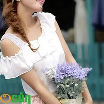 【Osun】蕾絲小可愛背心 夏季百搭蕾絲雙肩-中 2入(黑/白 #2071/CE-176D)