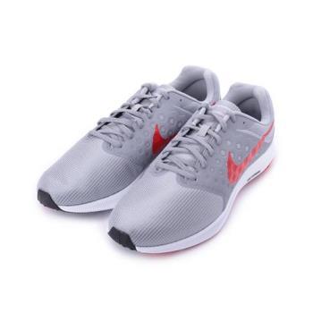 NIKE DOWNSHIFTER 7 RUNNING 輕量跑鞋 灰紅 852459-013 男鞋