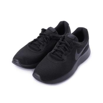 NIKE TANJUN 輕量休閒跑鞋 全黑 812654-001 男鞋