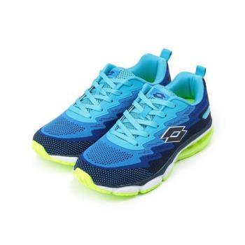 LOTTO WAVEKNIT II 編織氣墊跑鞋 藍 LT7AMR5176 男鞋