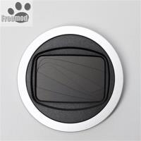 台灣製造Freemod半自動鏡頭蓋X-CAP2鏡頭蓋49mm鏡頭蓋Silver銀色