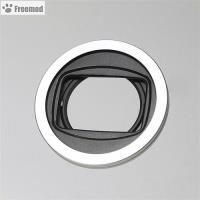 台灣製造Freemod半自動蓋X-CAP2(含STC保護鏡)49mm鏡頭蓋Silver銀色