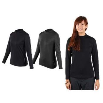 WILDLAND 女運動T恤-長袖T恤 休閒T恤 刷毛T恤