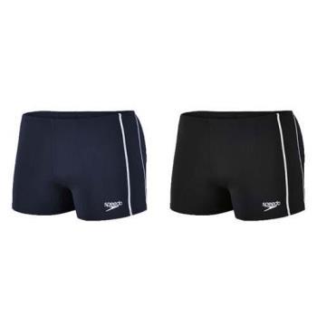 SPEEDO CLASSIC 男運動四角泳褲-平口泳褲 游泳 戲水