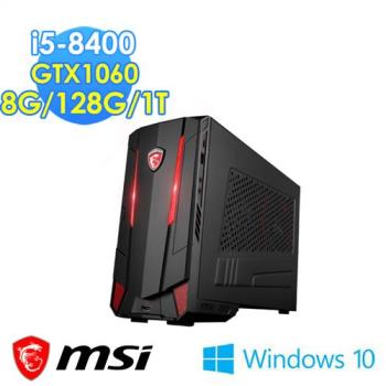msi微星 Nightblade MI3 8RC 004TW i5-8400 GTX1060 Win10 電競桌機
