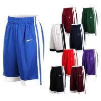 NIKE 男籃球針織短褲-路跑 慢跑 訓練 五分褲