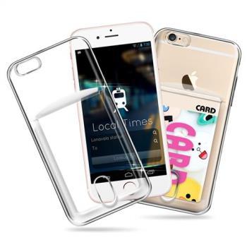 CITY for iPhone 6S plus / 6 plus 防滑插卡薄型手機殼