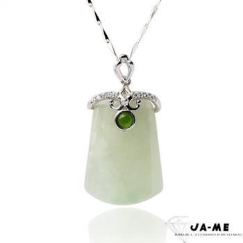 【JA-ME】天然A貨翡翠平安無事玉墬(隨機出貨)