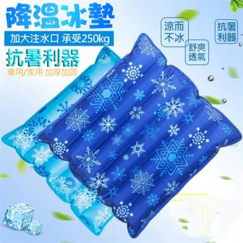冰晶水涼墊/水墊-45X45cm 冰晶坐墊 涼感冰墊 寵物墊 汽車椅墊