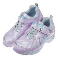 《布布童鞋》Moonstar日本銀光紫柔愛心輕量兒童機能運動鞋(19~23公分)I8C057F
