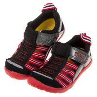 《布布童鞋》日本IFME黑色兒童機能水涼鞋(15~19公分)P8M030D
