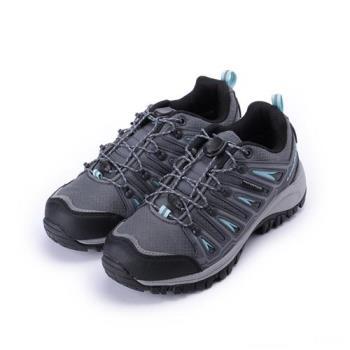 GOODYEAR 防水束帶戶外運動鞋 灰藍 GAWO72007 女鞋