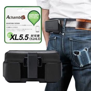 Achamber 真皮 旋轉腰夾腰掛皮套 橫式皮套 for ASUS ZenFone 5 (2018) / ZenFone 5Z