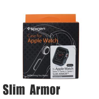 韓國Spigen Slim Armor Apple Watch Series1/2/3代專用輕薄型防刮保護殼(42mm)
