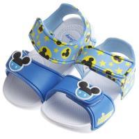 《布布童鞋》Disney迪士尼米奇藍色超輕量速乾涼鞋(16~19.5公分)MIS854B